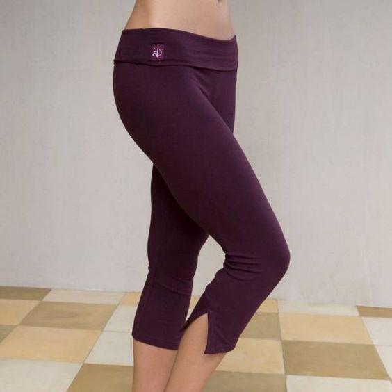 Yoga broek 'Chatvari' burgundy
