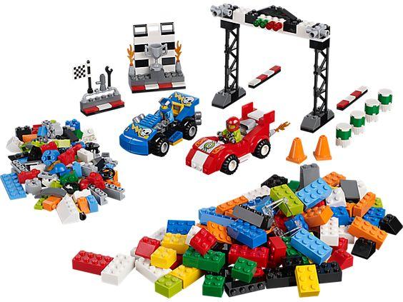 Grande boîte du rallye automobile   LEGO Shop