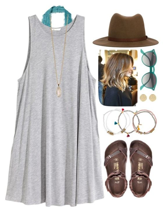 """""""Account you need to follow right now- @lauren-hailey """" by robramey17 ❤ liked on Polyvore featuring Free People, H&M, Birkenstock, Zoya, rag & bone, River Island, Me to We, Shashi and Ray-Ban"""