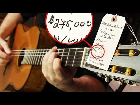 This Guitar Is Worth 275 000 Youtube Guitar Music Institute Custom Guitar