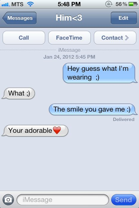 How fricken cute, besides the lack of grammar - but that's okay :)