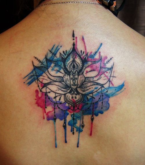 mandala tattoo with colors  one day... it will be mine!
