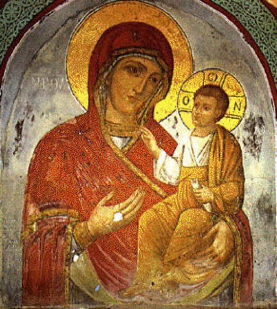 Αποτέλεσμα εικόνας για εικονεσ τησ παναγιασ στο αγιο οροσ