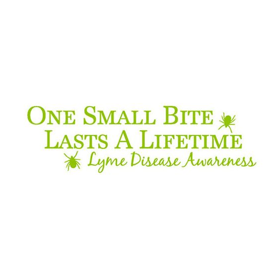 I will support my best friend through this forever! Lyme disease is horrible and we need a cure!