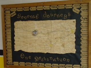 Residence Hall Bulletin Board  Several Journeys ~ One Destination