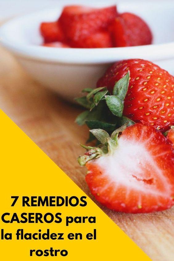 7 remedios para la flacidez en el rostro