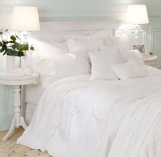 Love An All White Bedroom Zara Home Romantic White Embroidered Bedspread Love An All White