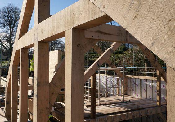 English Oak Buildings Cartwright new build