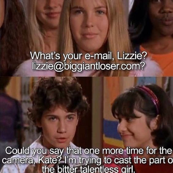 probably the best insult and comeback you will ever hear... Lizzie McGuire