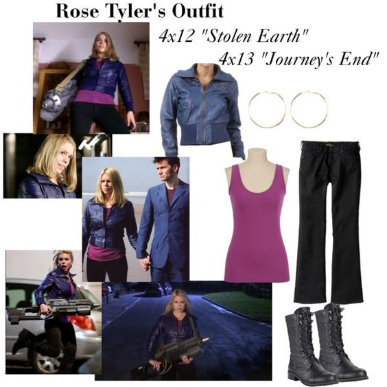 Rose tyler outfit, Rose tyler and Journey's end on Pinterest