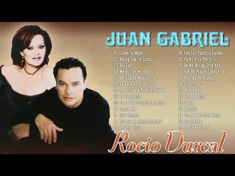 Juan Gabriel Y Rocio Durcal 30 Grandes Exitos Inmortales Juan Y Rocio Sus éxitos Romanticos De Oro Youtube Durcal Juan Gabriel Y Rocio Dúrcal