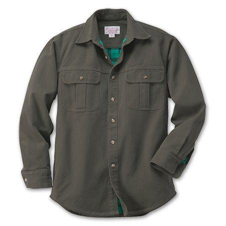 Filson Antique Tin Cloth-Lined Shirt Jacket. | Summer Jackets