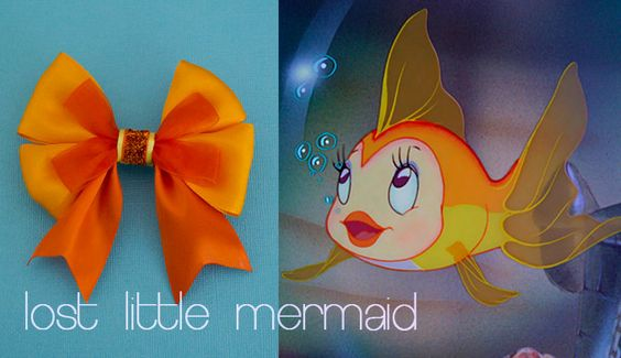 Little Cleo Glitter Tail Bow