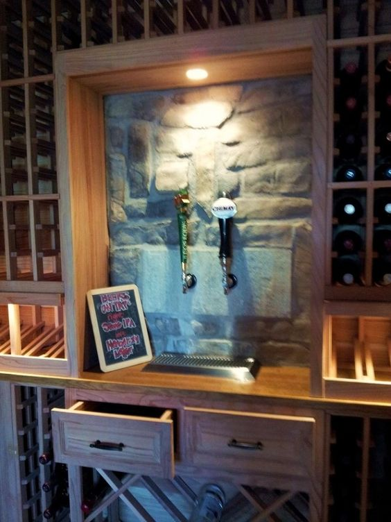 Pinterest the world s catalog of ideas for Garage wine cellar