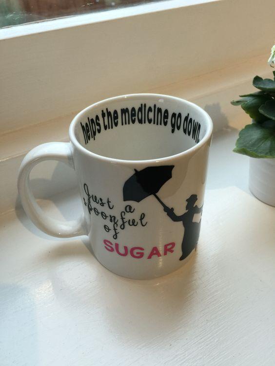 Mary Poppins themed mug x