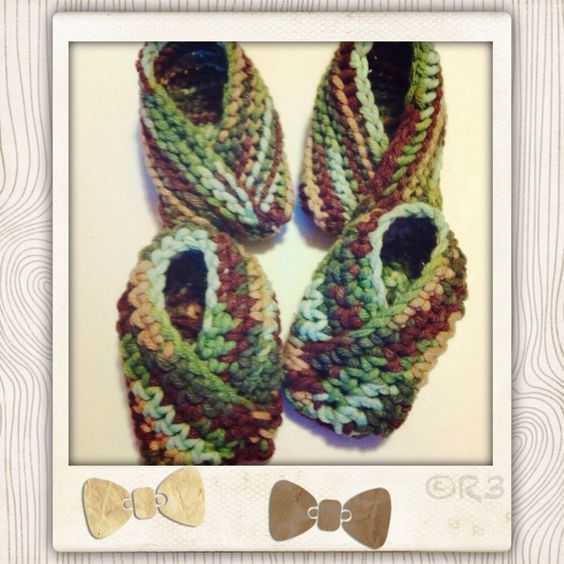 Kimono Baby Shoes - Knit & Crochet Baby Ideas Pinterest Babies, Cro...