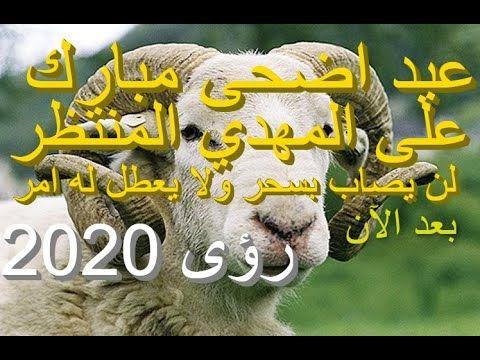 المهدي المنتظر عيد اضحى مبارك على المهدي لن يصاب بسحر ولا يعطل له امر بعد الآن