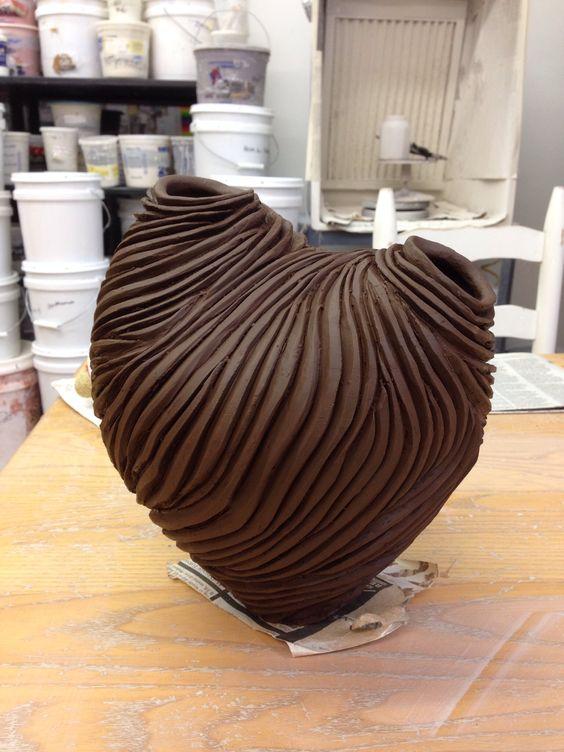 Carving New Form Ceramica Textura Tactil Pinterest