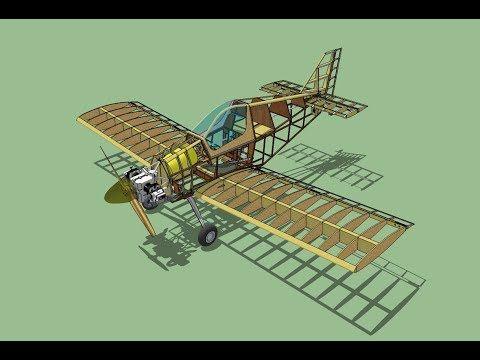 Raio X Do Pik 26 Youtube Aircraft Design Ultralight Plane