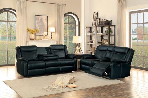 2 Pc Homelegance Flatiron Black Leather Gel Match Reclining Sofa Loveseat Set 8201blk Sofa And Loveseat Set Sofa Deals Best Leather Sofa