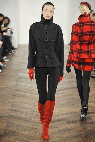 Ralph Lauren Fall 2008 Ready-to-Wear Fashion Show - Emma Pei