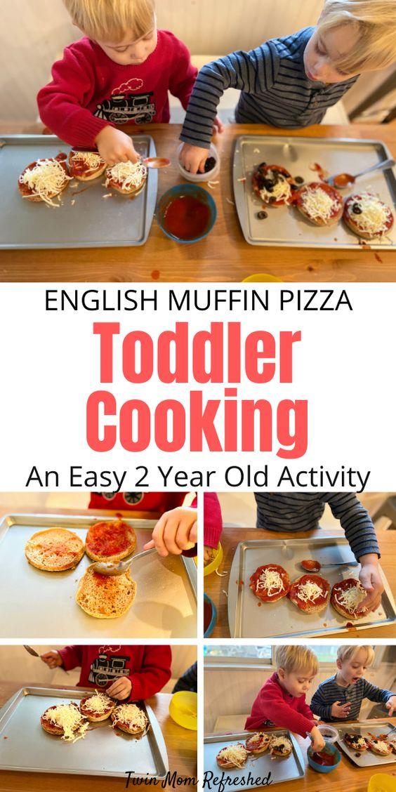 English Muffin Pizza Toddler Recipe