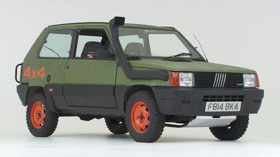 1989 Fiat Panda 4x4 to be featured on Wheeler Dealers | eBay