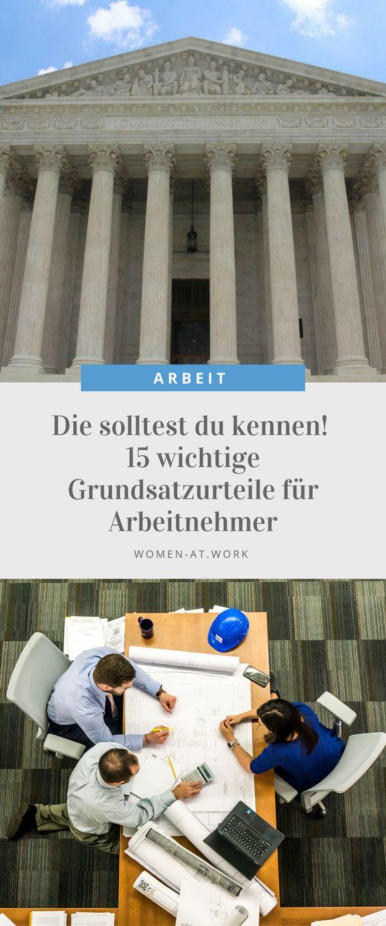 Manche Streitpunkte in der Arbeitswelt sind so wichtig bzw. häufig, dass das Bundesarbeitsgericht (BAG) in Erfurt darüber ein so genanntes Grundsatzurteil fällt. Es ist dann für ganz Deutschland rechtskräftig und eine Orientierung für die untergeordneten Instanzen. Sie müssen dieser Rechtsauffassung folgen. Deshalb sind Urteile des BAG auch so wichtig für Arbeitnehmer.