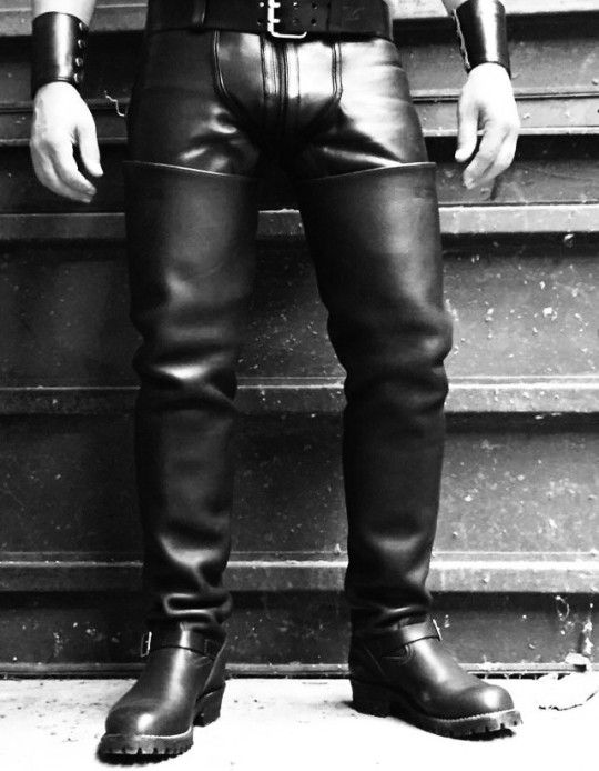 Thigh-Highs | Mens high boots, Leather