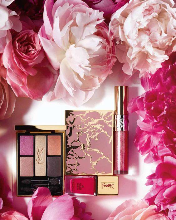 Yves Saint Laurent Pivione crush lentemake-up collectie 2014 - Beautyscene