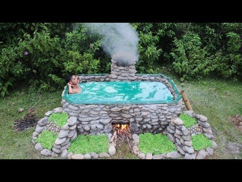 Building Amazing Pool For Swimming Youtube Hot Tub Stock Tank Hot Tub Swimming Pools