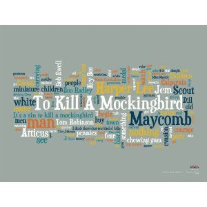 I need a good eye-catching phrase for me essay on TO KILL A MOCKINGBIRD.?
