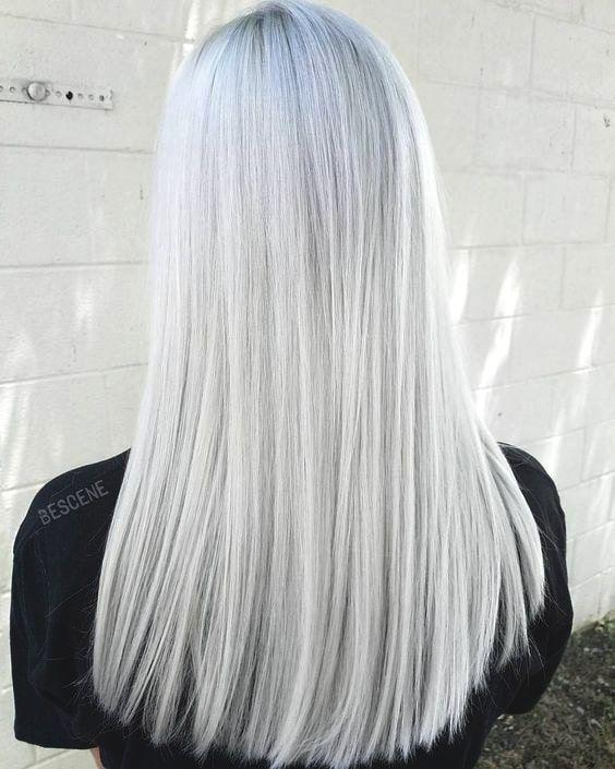 Snow Bunny Blonde Hair Color Trend 2019 Hairstyles White Hair