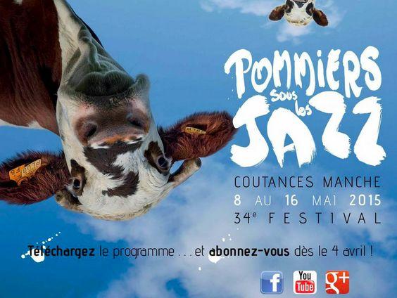 Affiche Jazz Sous les Pommiers 2015 - COULEURS JAZZ #10