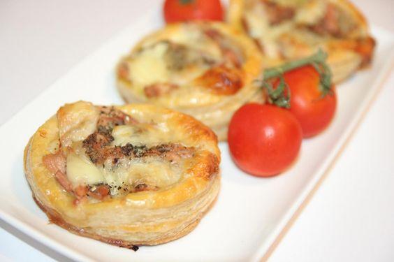 miremirc...bucataria in imagini: Tarta cu ton si mozzarella