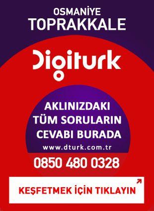 Digiturk Toprakkale - Servis Satış Noktası - 0328 Osmaniye