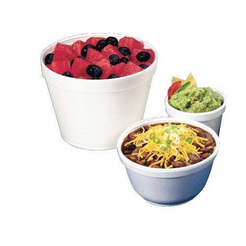 Dart 4j6 Bowl Containers Foam 4oz White Case Of 1000 Ad