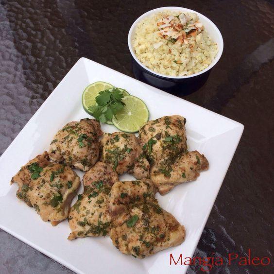 Chicken and cauliflower rice