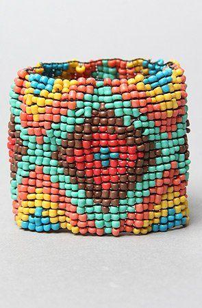 The Multi Glass Elastic Bracelet