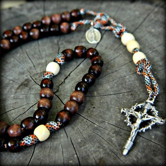 Z-Custom Paracord Rosary for William C.