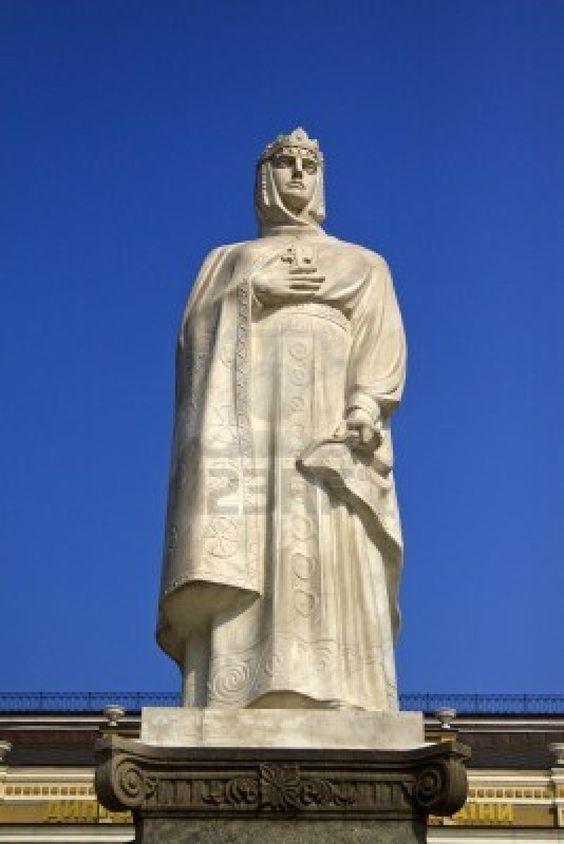Saint Olga Monument ~ Kiev-Ukraine