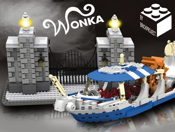 Lego Ideas Willy Wonka And The Chocolate Factory Lego
