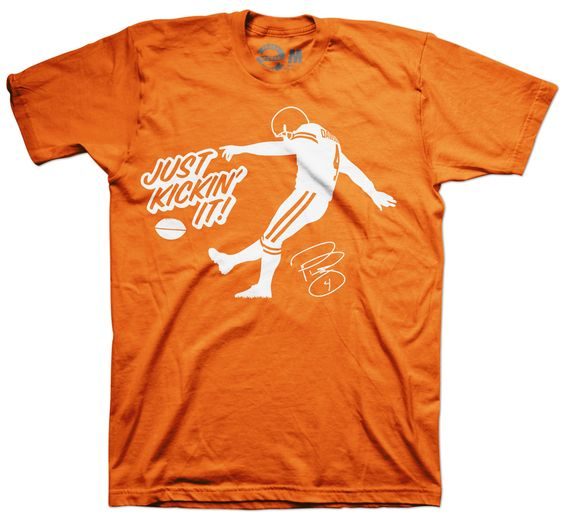 Phil Dawson Just Kickin It T-Shirt | Gift ideas for Mike ...
