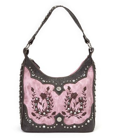This Pink Horseshoe Hobo is perfect! #zulilyfinds