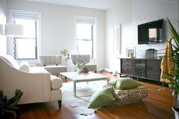 Asientos blancos  #salones #living_room #wood #lounge_design