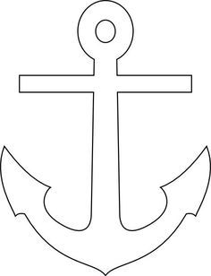 Anchor Pattern Use The Printable Outline