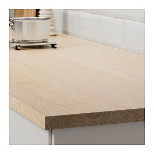 Ekbacken Arbeitsplatte Eschenachbildung Laminat Ikea Deutschland Countertops Wood Worktop Kitchen Worktop