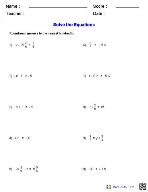 25 8th Grade Math Problems With Answers Worksheets Accounting Invoice 8th Grade Math Problems 8th Grade Math Math Word Problems