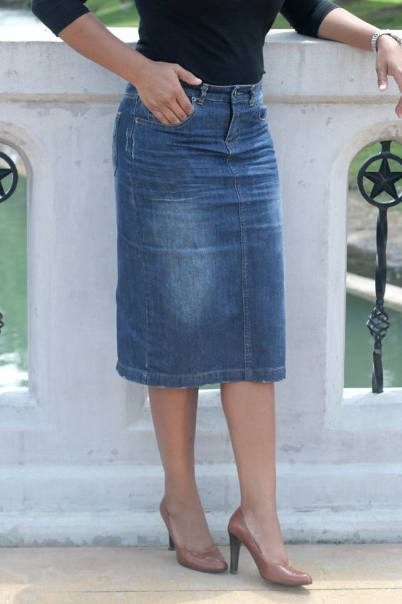 Marissa Denim Skirt