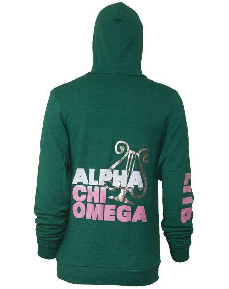 Alpha Chi Omega Lyre LITB Hoody